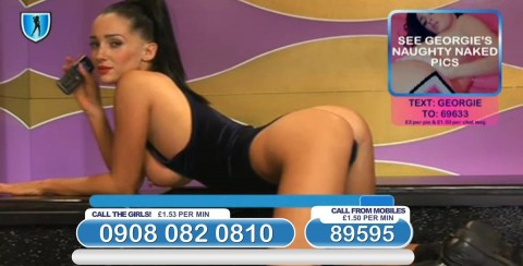 TelephoneModels.com 03 03 2014 22 56 40 480x244 Georgie Darby   Babestation TV   March 4th 2014