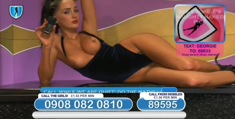 TelephoneModels.com 03 03 2014 22 59 36 480x244 Georgie Darby   Babestation TV   March 4th 2014