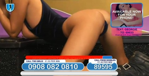 TelephoneModels.com 03 03 2014 23 05 53 480x244 Georgie Darby   Babestation TV   March 4th 2014