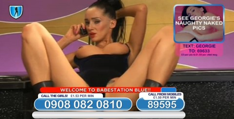 TelephoneModels.com 03 03 2014 23 07 39 480x244 Georgie Darby   Babestation TV   March 4th 2014