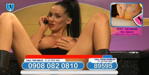 TelephoneModels.com 03 03 2014 23 18 45 480x244 Georgie Darby   Babestation TV   March 4th 2014