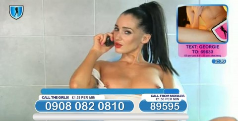 TelephoneModels.com 04 03 2014 01 08 39 480x244 Georgie Darby   Babestation TV   March 4th 2014