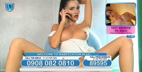 TelephoneModels.com 04 03 2014 01 09 29 480x244 Georgie Darby   Babestation TV   March 4th 2014
