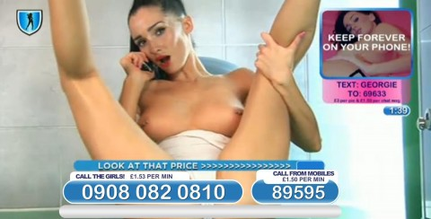 TelephoneModels.com 04 03 2014 01 09 37 480x244 Georgie Darby   Babestation TV   March 4th 2014