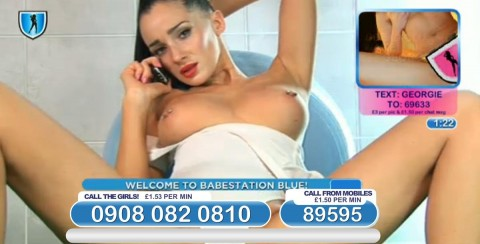 TelephoneModels.com 04 03 2014 01 09 53 480x244 Georgie Darby   Babestation TV   March 4th 2014
