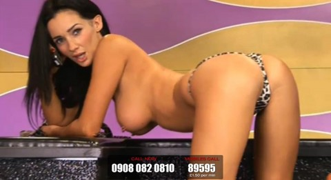 TelephoneModels.com 19 03 2014 22 30 06 480x261 Georgie Darby   Babestation TV   March 20th 2014
