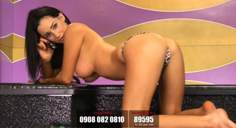 TelephoneModels.com 19 03 2014 22 30 15 480x261 Georgie Darby   Babestation TV   March 20th 2014