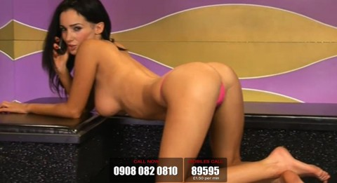 TelephoneModels.com 19 03 2014 23 37 08 480x261 Georgie Darby   Babestation TV   March 20th 2014