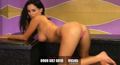 TelephoneModels.com 19 03 2014 23 38 25 480x261 Georgie Darby   Babestation TV   March 20th 2014