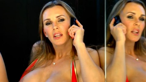 TelephoneModels.com 24 03 2014 22 49 06 480x270 Tanya Tate   Studio 66 TV   March 25th 2014