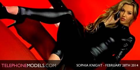 TelephoneModels.com Sophia Knight Studio 66 TV February 28th 2014 Sophia Knight   Studio 66 TV   February 28th 2014