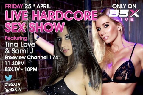 BmE7ayoCcAAQzCB.jpg large 480x320 Tina Love & Sami J Babestation X BSX Live Hardcore Girl/Girl Sex Show Tonight