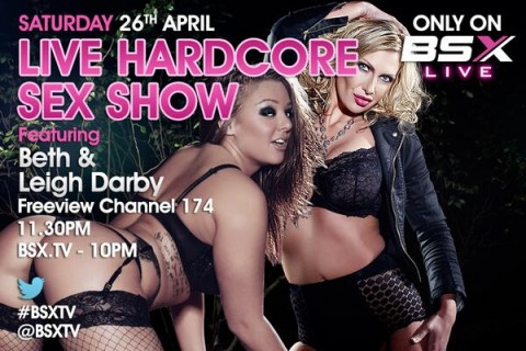 BmIMAVfCQAAz5hj 480x320 Beth & Leigh Darby Babestation X BSX Live Hardcore Girl/Girl Sex Show Tonight