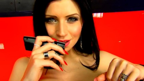 TelephoneModels.com 08 04 2014 23 51 17 480x270 Lilly Roma   Studio 66 TV   April 9th 2014