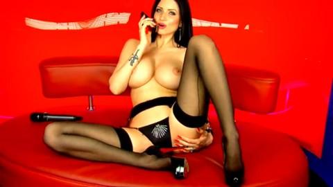 TelephoneModels.com 09 04 2014 00 08 33 480x270 Lilly Roma   Studio 66 TV   April 9th 2014