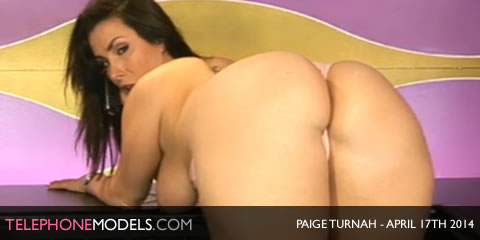 TelephoneModels.com Paige Turnah Babestation TV April 17th 2014 Paige Turnah   Babestation TV   April 17th 2014