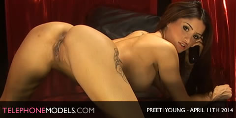 TelephoneModels.com Preeti Young Babestation Unleashed April 11th 2014 Preeti Young   Babestation Unleashed   April 11th 2014
