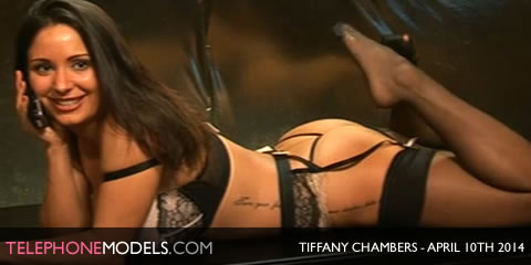TelephoneModels.com Tiffany Chambers Babestation TV April 10th 2014 Tiffany Chambers   Babestation TV   April 10th 2014