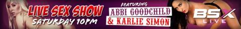 171 480x59 Abbi Goodchild & Karlie Simon Babestation X BSX Live Hardcore Sex Porn Show Tonight