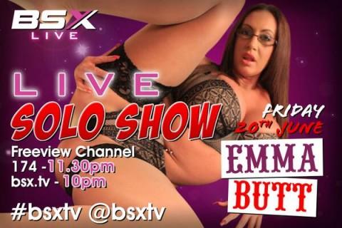 BqkKvyHCEAE3pXk 480x320 Emma Butt Babestation X BSX Live Solo Porn Show Tonight